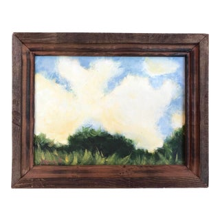 Cloud Study Original Oil Painting Landscape For Sale