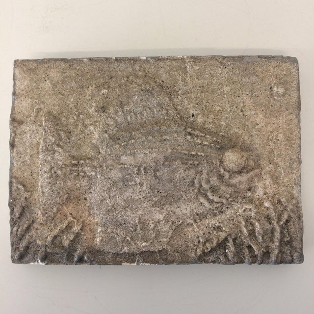 Gray 1954 Mid-Century Fish Tile by Jerry Pearson For Sale - Image 8 of 8