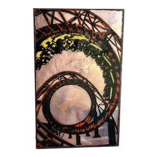 """""""Wild Ride"""" Spiritile by Houston Llew #062 - Retired Collection For Sale"""