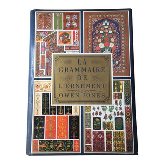 The Grammar of Ornament by Owen Jones, Design Book For Sale