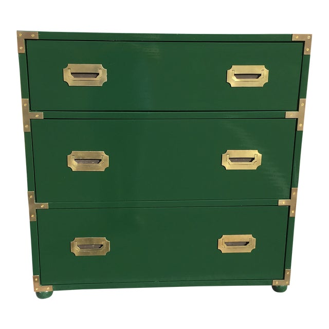 1970's Campaign Chest of Drawers For Sale