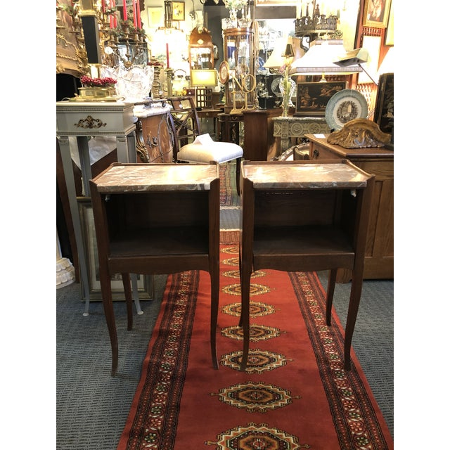 Antique Early 19th Century French End Tables - a Pair For Sale - Image 13 of 13