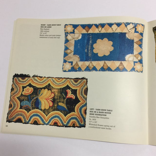 Paper Light From the Past Early American Rugs Book For Sale - Image 7 of 10