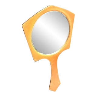 1950s Vintage Hand Mirror For Sale