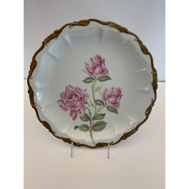 Late 19th Century Antique R. C. Crown Bavaria Plate For Sale - Image 9 of 9
