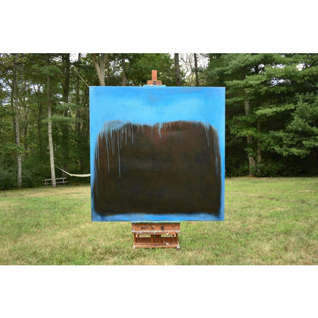 Large Abstract Painting by Stephen Remick For Sale - Image 10 of 11