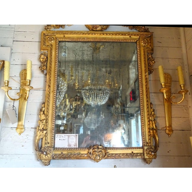 Pair of 19th Century Bronze Sconces For Sale - Image 9 of 10