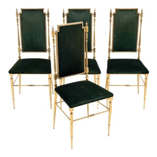 Set of Four Chiavari Chairs For Sale