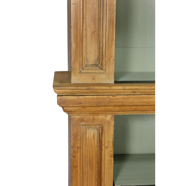 Wood George III Pine Bookcase For Sale - Image 7 of 12