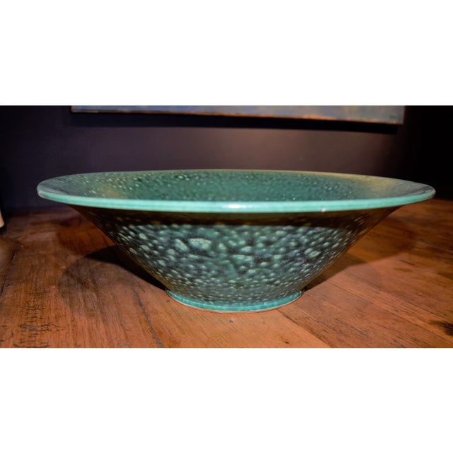 1990s Chinese Ceramic Decorative Bowl For Sale - Image 5 of 5
