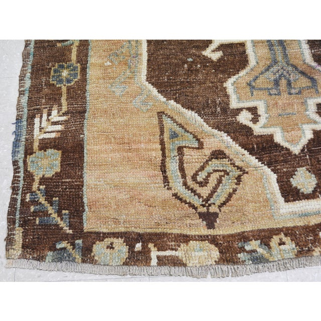 "1940s Vintage Kurdish Tribal Rug,5'1""x12'3"" For Sale - Image 5 of 6"