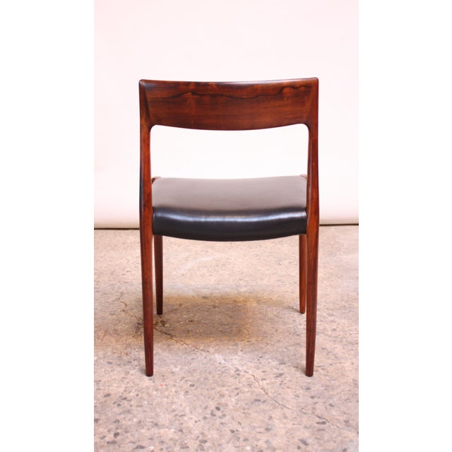 Set of Six Rosewood #77 Dining Chairs by Niels O. Møller - Image 6 of 11