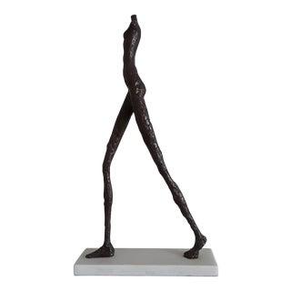 Modernist Bronze Figural Sculpture For Sale