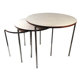 20th Century Space Age Nesting Tables - Set of 3 For Sale