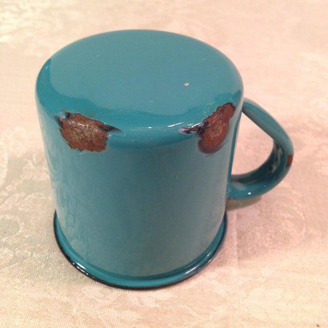 Vintage Enamel Ware Cups- Set of 6 - Image 8 of 11