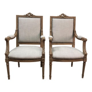Antique French Chairs- A Pair