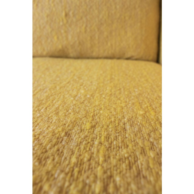 Yellow 1970s Vintage Milo Baughman Style Sofa For Sale - Image 8 of 10