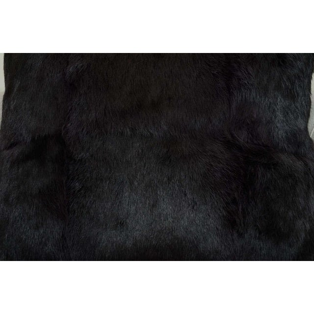 Modern Anthracite Lapan Pillow For Sale - Image 3 of 4
