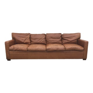 Ralph Lauren Leather Sofa For Sale