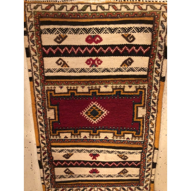 "Moroccan Berber Rug-2'1'x3'4"" For Sale - Image 9 of 10"
