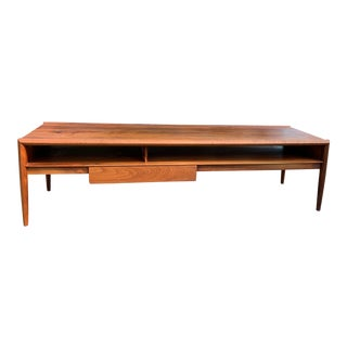 1960s Mid Century Coffee Table/Media Console For Sale