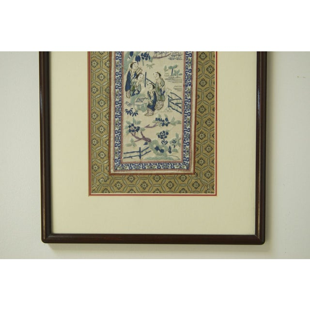 19th Century Chinese Embroidery Panel - Image 4 of 8