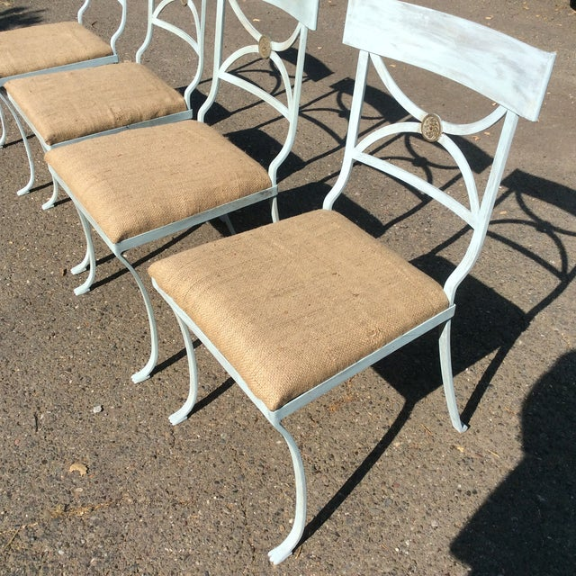 French Empire Chairs - Set of 4 For Sale - Image 11 of 11