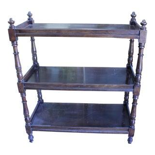 19th Century English Wood Shelf For Sale