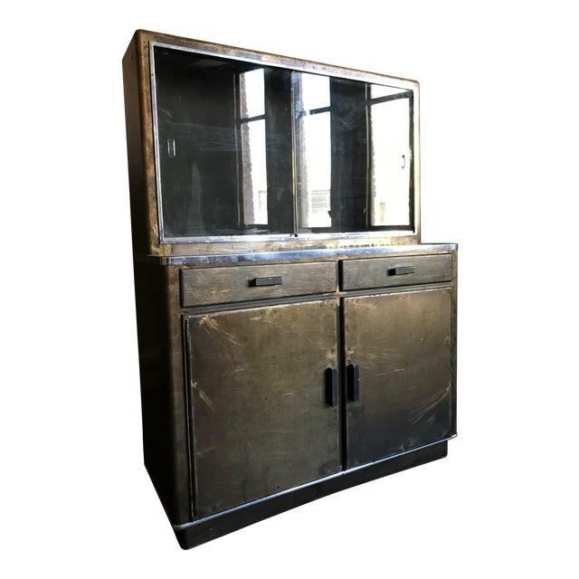 Metal Bar Cabinet For Sale