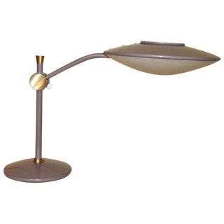 Dazor Mid-Century Flying Saucer Desk Lamp