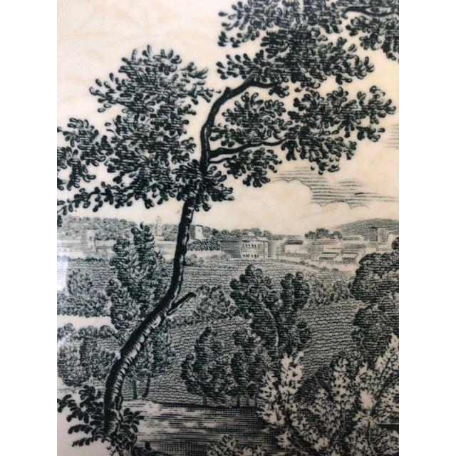 "Royal Worcester Palissy ""Avon Scenes"" Hand Engraved Porcelain Platter For Sale In Charleston - Image 6 of 10"