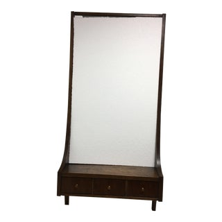 Broyhill Premier Mid-Century Wall Mirror With Drawers