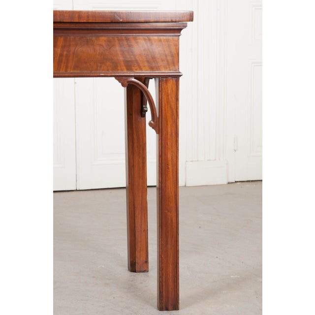 This Stunning Chippendale-style mahogany and walnut server, circa 1780, is from the Netherlands and has a gorgeous patina...