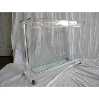 20th Century Hollywood Regency Lucite Bar Preview