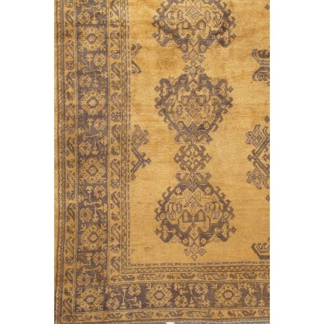Traditional Antique Turkish Oushak Rug Carpet, 9'4 X 11' For Sale - Image 3 of 5