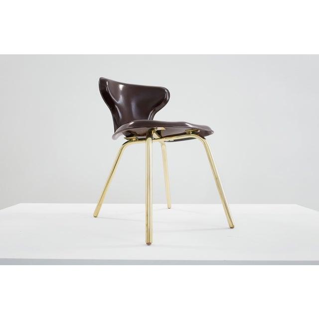 Fiberglass Egmont Arens, Fiberglass Chair, C. 1950 - 1959 For Sale - Image 7 of 8