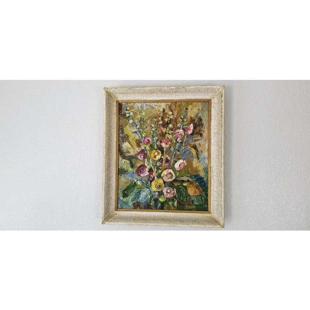 1980 Jaga Prokopiuk Polish - Still Life Oil on Canvas Painting For Sale - Image 9 of 10