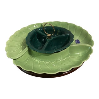 Sylvan Ceramics Mid-Century Jr. Chip N' Dip Susan