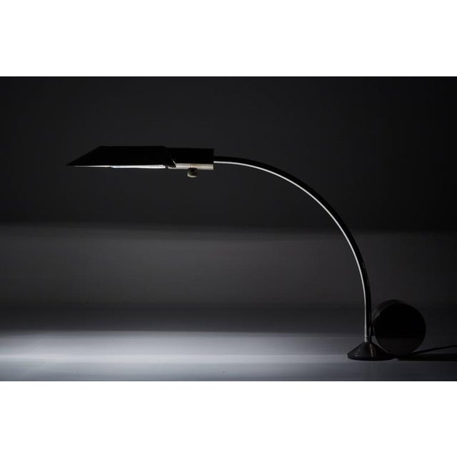 Early Period Chrome Table Lamp by Cedric Hartman - Image 3 of 7