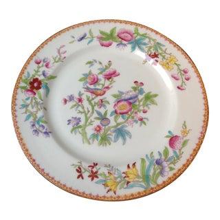 Antique English Royal Dolton Floral Dinner Plates For Sale