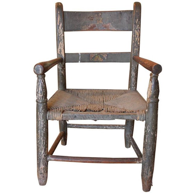 1890s Childs Wooden Chair