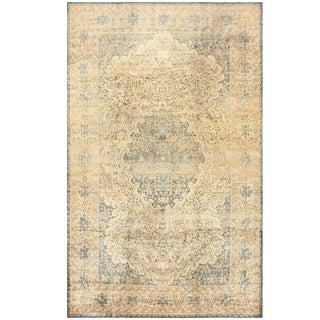 Large Decorative Antique Persian Kerman Rug - 10′6″ × 17′ For Sale