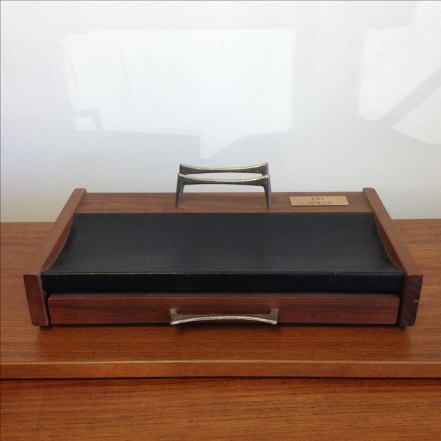 Mid-Century Desk Organizer by Don Lopez - Image 2 of 11