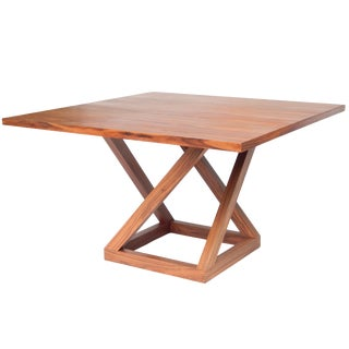 Circassian Walnut Pedestal Table. For Sale