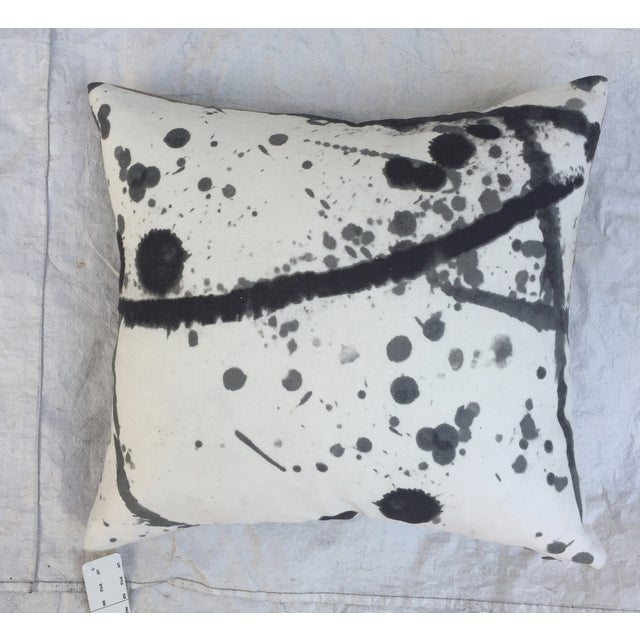 "Pierre Frey ""Leo"" Fabric Abstract Pillows - Pair For Sale - Image 5 of 8"