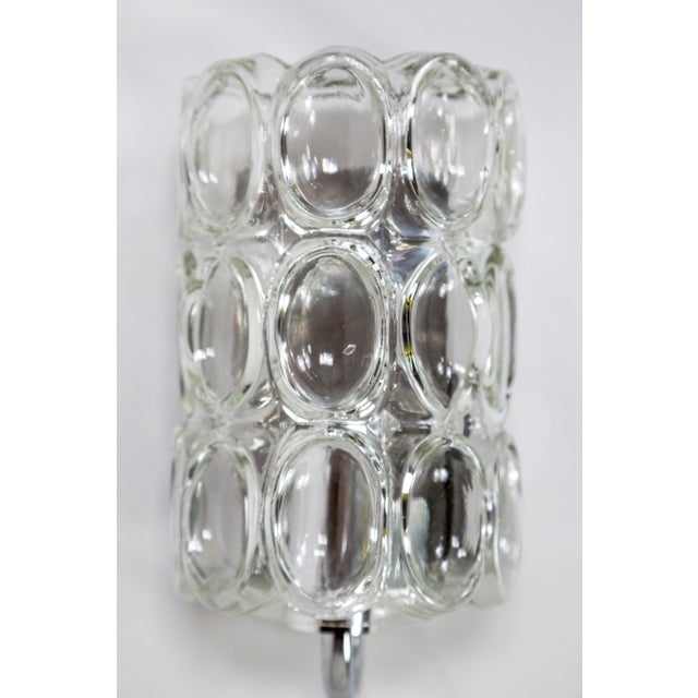 Mid-Century Modern Limburg Half Cylinder Concave Oval Sconce For Sale - Image 3 of 10