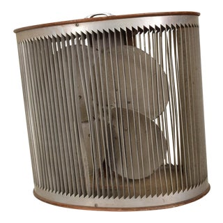 Mid Century Modern Electric Fan Mathes Cooler Vintage Decorative For Sale