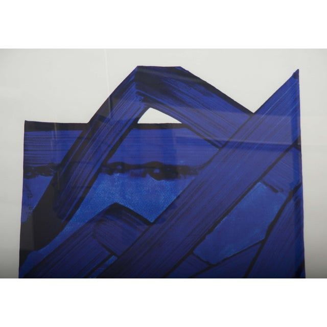 Lithograph by Pierre Soulages (B. 1919) From the Official Arts Portfolio of XXIV Olympiad For Sale - Image 10 of 10