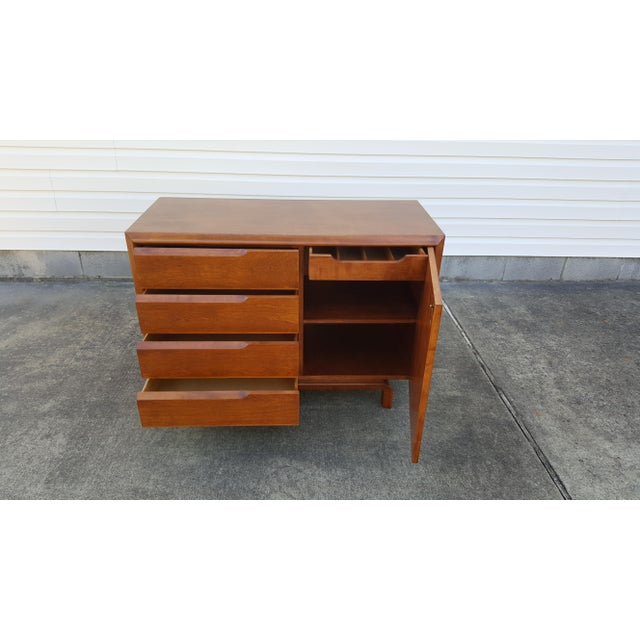 Mid Century Edmond Spence Credenza Cabinet For Sale - Image 9 of 13
