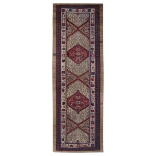 Antique Serab Long Rug For Sale